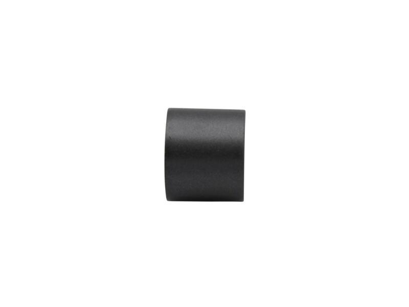 Cap eindkap gordijnroede 20mm antraciet 2 stuks