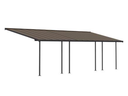 Palram Capri pergola 9,24x3 m bronze/gris