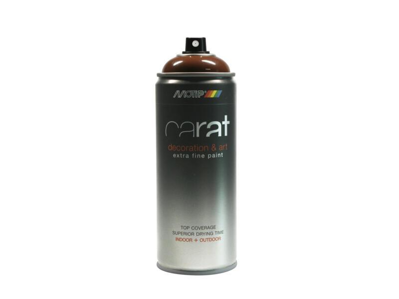 Motip Carat lakspray hoogglans 0,4l Charly bruin