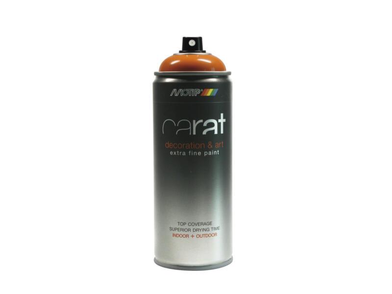 Motip Carat lakspray hoogglans 0,4l geeloranje