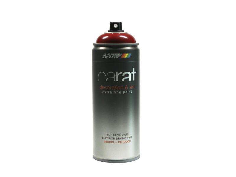 Motip Carat lakspray hoogglans 0,4l paarsrood