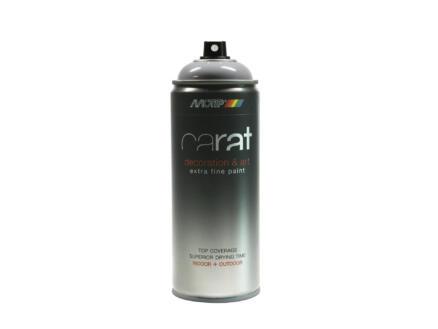 Motip Carat lakspray hoogglans 0,4l zilvergrijs