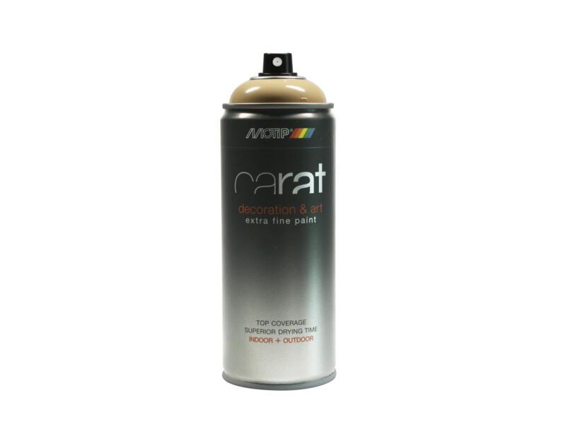 Motip Carat laque déco en spray brillant 0,4l beige