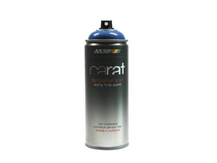 Motip Carat laque déco en spray brillant 0,4l bleu signalisation