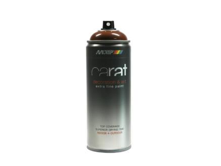 Motip Carat laque déco en spray brillant 0,4l brun Charly