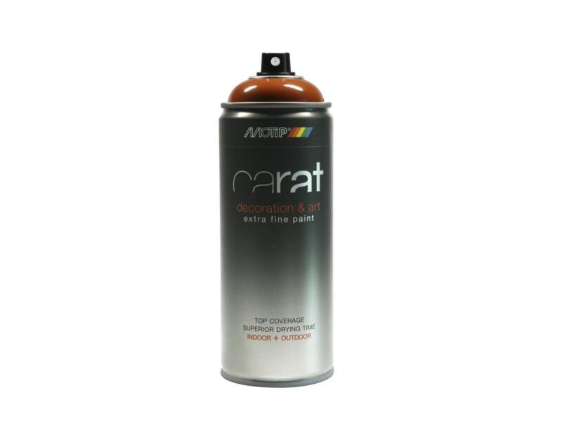 Motip Carat laque déco en spray brillant 0,4l brun orangé
