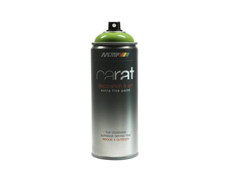 Motip Carat laque déco en spray brillant 0,4l citron vert