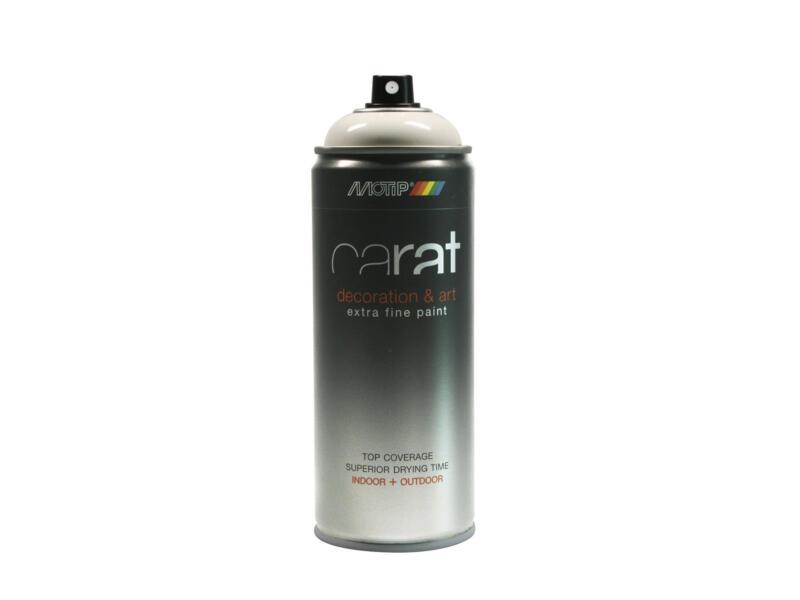 Motip Carat laque déco en spray brillant 0,4l crème