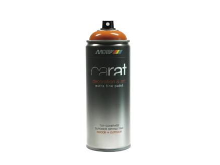 Motip Carat laque déco en spray brillant 0,4l orange jaune