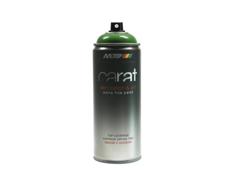 Motip Carat laque déco en spray brillant 0,4l vert lutecia