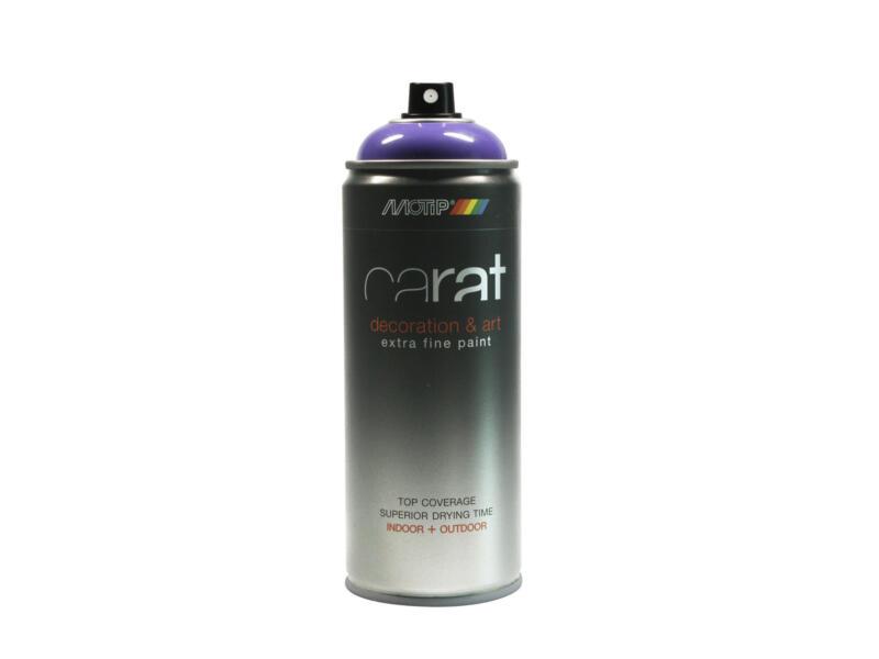 Motip Carat laque déco en spray brillant 0,4l violet myrtille