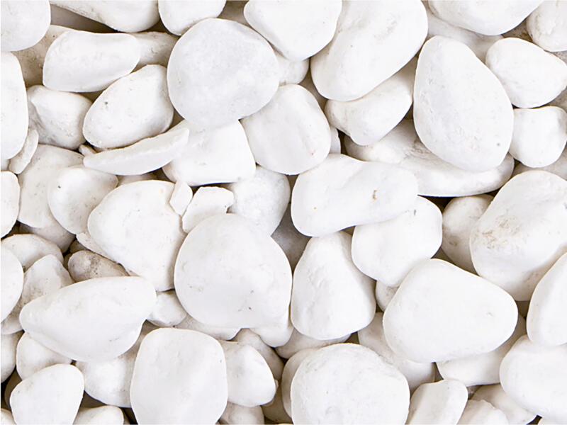 Carrara keien 25-40 mm 20kg wit