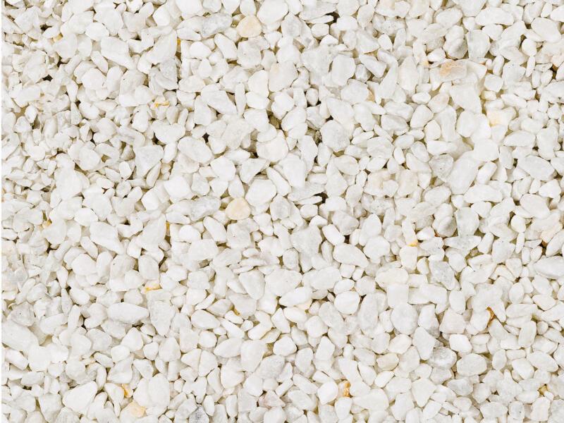 Carrara split grind 8-12 mm 20kg wit