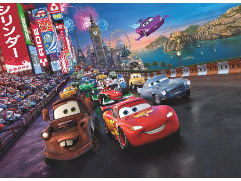 Cars Race fotobehang 4 stroken