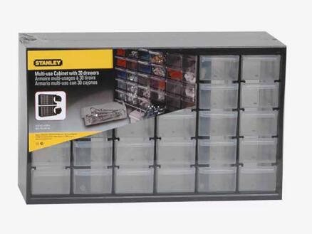 Stanley Casier de rangement 36,5x15,3x22,2 cm 30 tiroirs
