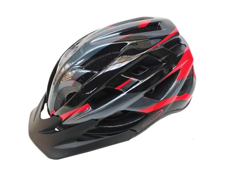 Maxxus Casque de vélo L/XL noir