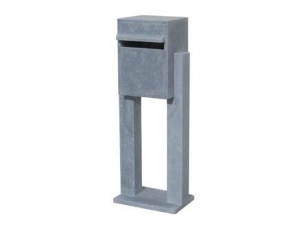 VASP Castello boîte aux lettres pierre bleue belge