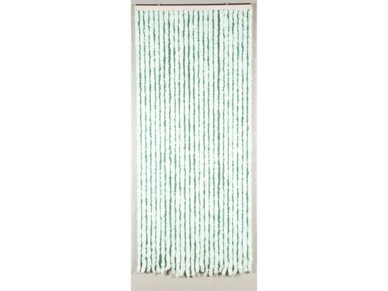 Confortex Castor rideau de porte 90x205 cm bleu