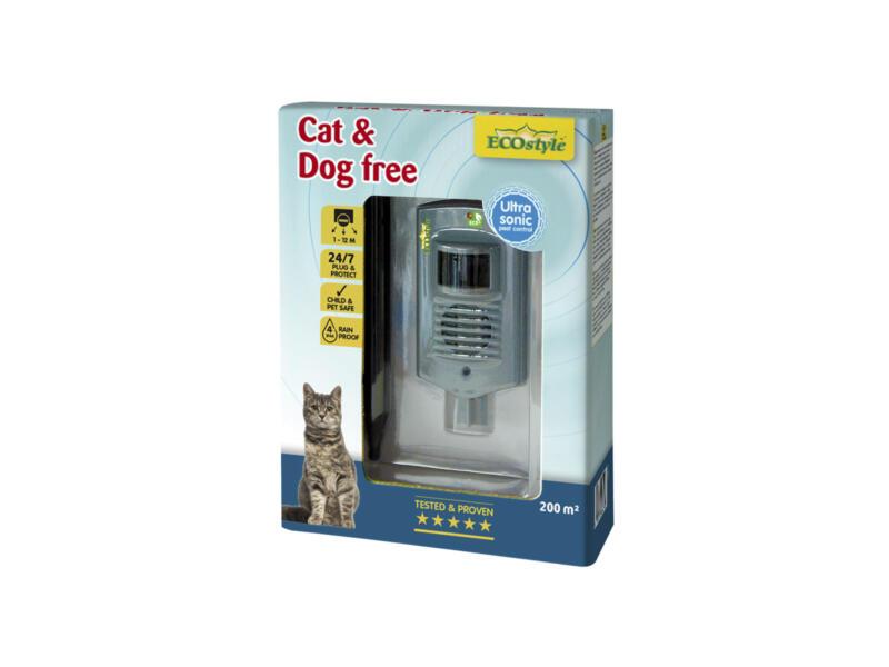 Ecostyle Cat & Dog Free répulsif chats et chiens à ultrasons
