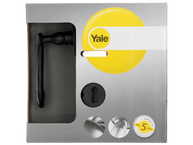Yale Ceres BB deurklinkset staal zwart