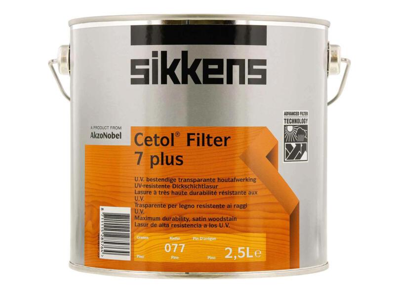 Sikkens Cetol Filter 7 plus 2,5l grenen