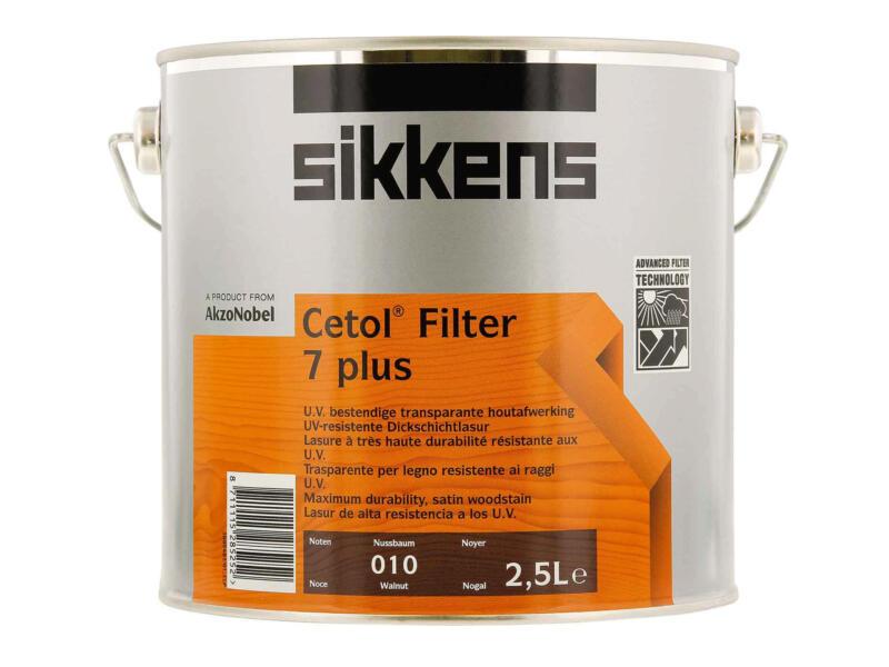 Sikkens Cetol Filter 7 plus 2,5l notenhout