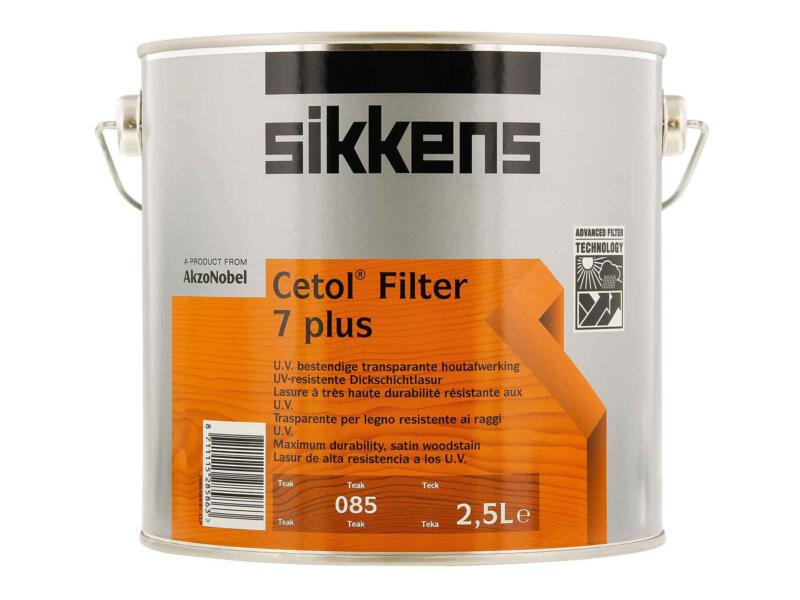 Sikkens Cetol Filter 7 plus 2,5l teck