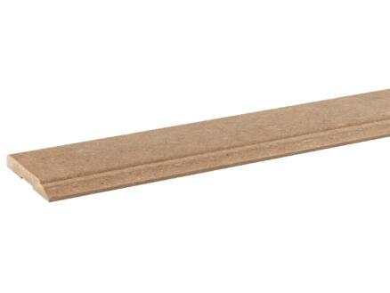 Chambranle de porte MDF 9x68 mm 220cm