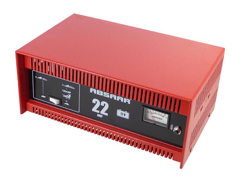 Absaar Chargeur de batterie 12V 22A