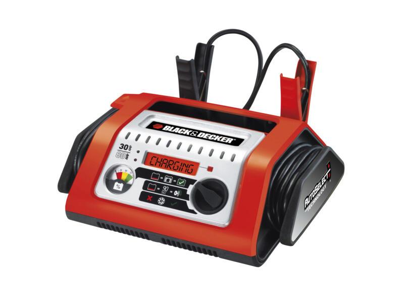 Black+Decker Chargeur de batterie 12V 30A
