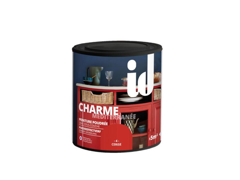 Charme peinture meubles bois et MDF 0,5l cerise