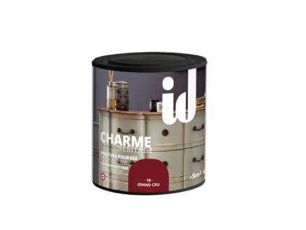 Charme peinture meubles bois et MDF 0,5l grand cru