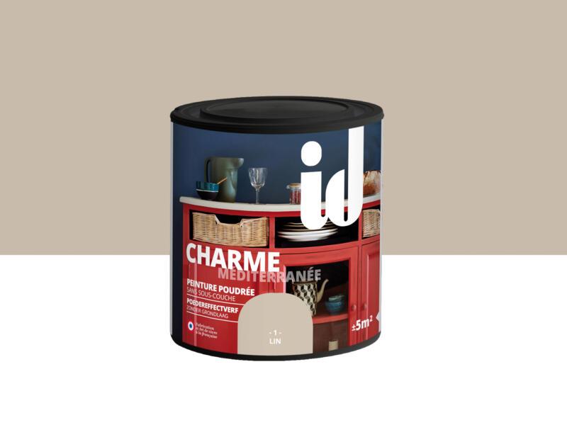 Charme peinture meubles bois et MDF 0,5l lin