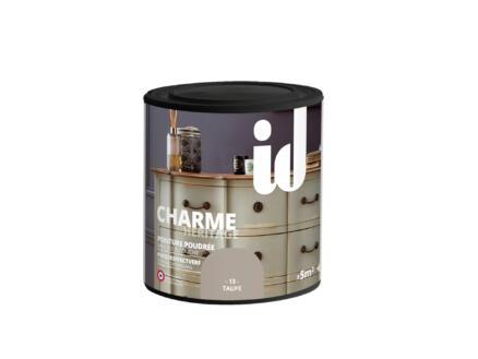 Charme peinture meubles bois et MDF 0,5l taupe