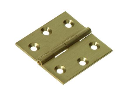 Charnière carrée 4x4 cm
