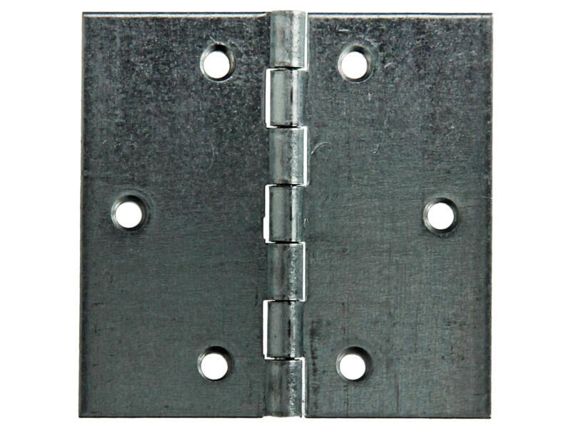 Charnière carrée 7x7 cm