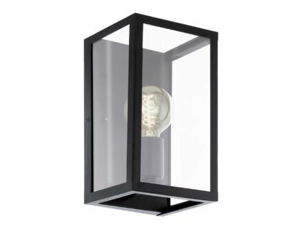 Eglo Charterhouse wandlamp E27 max. 60W zwart