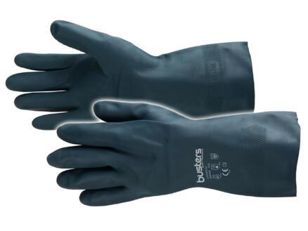 Busters Chemical werkhandschoenen XL latex zwart