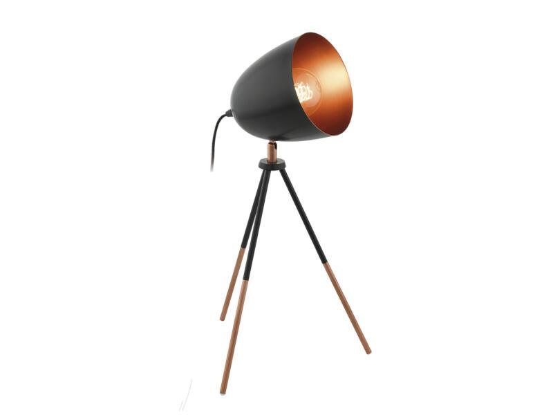 Eglo Chester tafellamp E27 60W zwart-koper