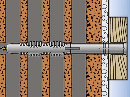 Fischer Cheville de construction FUR 10x100 SSK