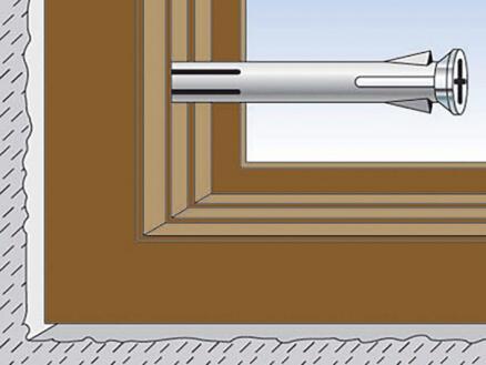 Fischer Cheville métal châssis F10M 132K
