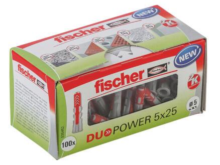 Fischer Cheville universelle Duopower 5x25 mm