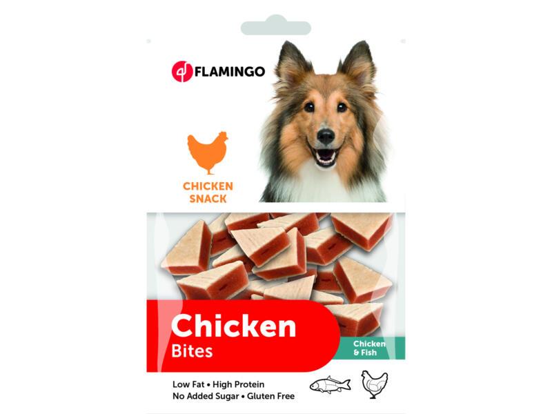 Flamingo Chicken Snack Bites hondensnack kip/vis 85g