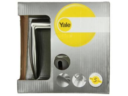 Yale Chloe BB deurklinkset op rozet 49mm inox