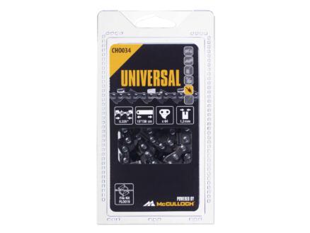 Universal Cho 034 chaîne de tronçonneuse 38cm 64 dents