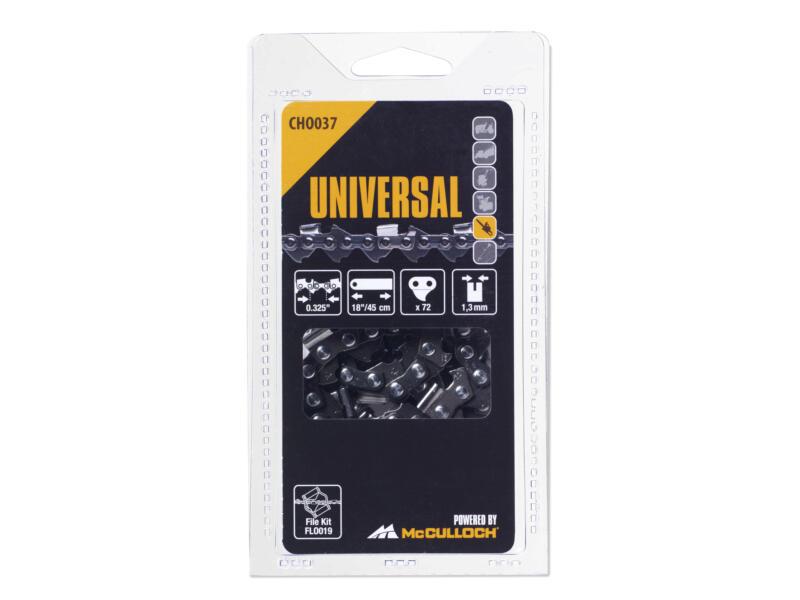 Universal Cho 037 chaîne de tronçonneuse 45cm 72 dents