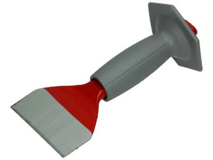 Ciseau à brique 100mm avec poignée de protection