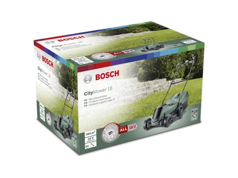 Bosch CityMower 18-300 tondeuse sans fil 18V Li-Ion 34cm batterie non comprise