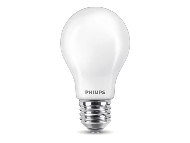 Philips Classic ampoule LED poire E27 7W blanc froid
