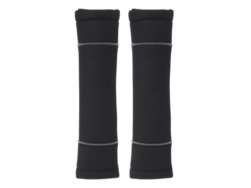 Carpoint Classic gordelbeschermerset zwart/grijs